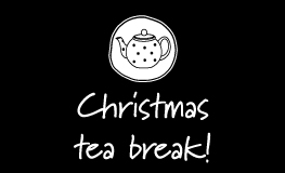Christmas-tea-break
